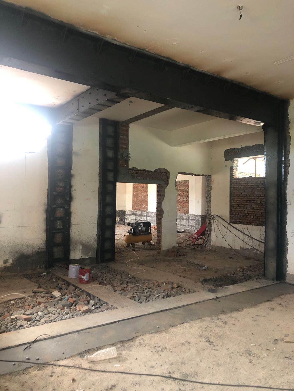 房屋墙体加固