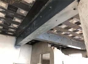 柱子包钢加固